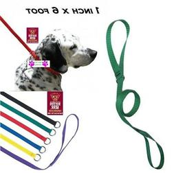 1-DOG NYLON Grooming Quick Fit Adjustable KENNEL LEADS No SL
