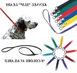 1-DOG NYLON No SLIP KENNEL LEAD LEASH ANIMAL CONTROL Trainin