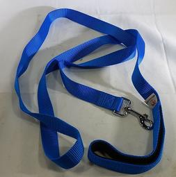 Dog Leash Nylon Strap 6 Feet Long Pet Lovers Club Blue 1 Lay
