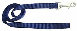 Hamilton Single Thick Nylon Dog Lead, 1-Inch by 6-Feet, Navy