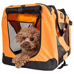 Pet Life '360° Vista View' Zippered Soft Folding Collapsibl