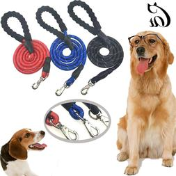 5 FT Dog Leash Service Lead Training Padded Handle Reflectiv