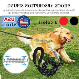 5 FT Strong Dog Rope Leash Lead Training Padded Handle Refle