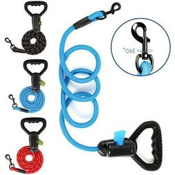 6 FT Dog Leash Heavy-duty Reflective Rope for Large Medium D