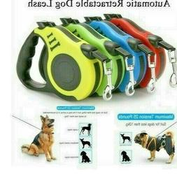 Dog Leash Retractable Small and Medium Pet with Lock Nylon W