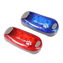 Max and Neo LED Clip On Dog Walking Safety Light
