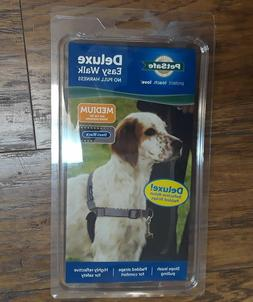 PetSafe Deluxe Easy Walk No Pull Harness for Dogs MEDIUM Ste