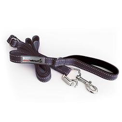 ThunderLeash No-Pull Dog Leash, Black/Blue, Large