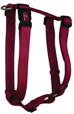Adjustable Dog Harness Size: Large, Color: Pink