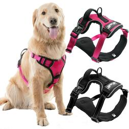 Adjustable No Pull Dog Pet Vest Harness Leash Durable Safety