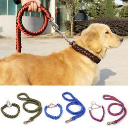 Adjustable Supplies Dog Pet Leash Collar Rope Lead Training
