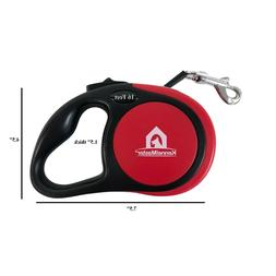 Automatic Retractable Dog Leash , 16 ft for dogs up to 110 l