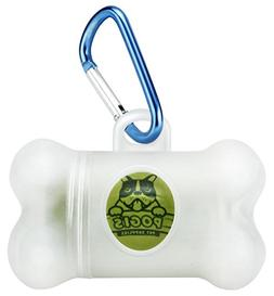 Bag Poop Dog Dispenser Holder Waste With 15 Scented Pickup B