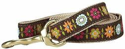 Up Country Bella Floral Lead - Wide - 6 ft