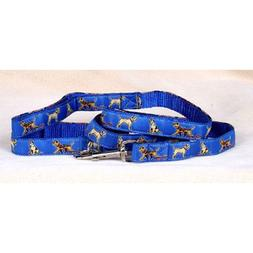 Dog Ink Border Terrier - Blue Collar and Lead Set
