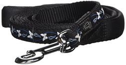 Dogit Style Medium Butterfly Nylon Leash with Comfort Handle