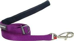 Red Dingo Classic Dog Lead, Small, Purple