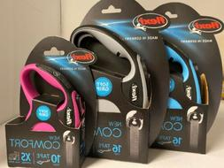 Flexi Comfort Dog Leash- You Choose Color/Size.  New in pack