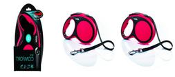Flexi New Comfort Retractable Dog Leash , 26 ft, Large, Red