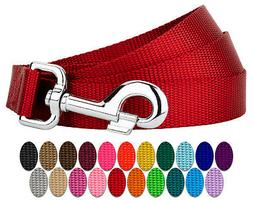 Country Brook Petz® 1 Inch Nylon Dog Leash