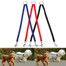 Coupler Double Head Collars Dog Leashes Lead Two Pet Dogs Wa