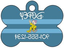Disney Snow White and The Seven Dwarfs Pet Id Tag for Dogs &