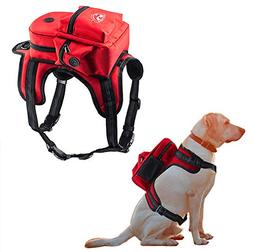 Kaynine Dog Backpack for Travel Camping Hiking.
