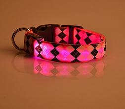 CoCocina LED Dog Collar Flashing Light to Keep Your Dog Safe