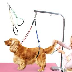 Dog Grooming NO SIT LIE DOWN RESTRAINT HARNESS Leash SYSTEM