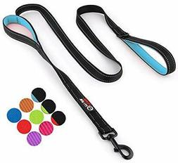 Dog Leash 6ft Long New Stronger Clip Heavy Duty Double Handl