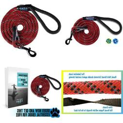 Dog Leash by GOMA - Best Heavy Duty and Reflective Lead - 10