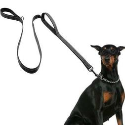 Dog Leash for Large Dogs, 2 Handles for Extra Control, 6 FT
