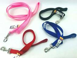 dog leash double ply nylon traffic strong
