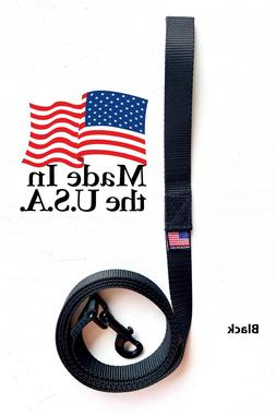 Dog Leash Lead Long Obedience Recall Training BLACK Multiple