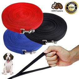 Dog Leash Long Obedience Recall Foot Feet Training Lead 6/15