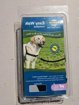 DOG LEASH NEW NIB HARNESS Petsafe Black Silver Medium Large