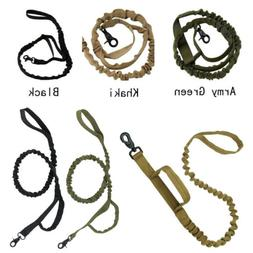 dog leash police tactical training heavy duty