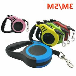 Dog Leash Retractable Walking Collar Automatic Traction Rope