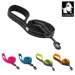 Dog Leash with Lightweight Metal Hook, Reflective Pet Leash,