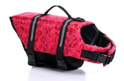eBasics Dog Life Jacket Swimming Vest Swimsuit with Reflecti