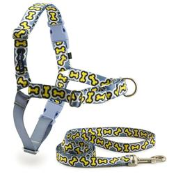 PetSafe Dog Pet Easy Walk Harness & LEASH CHIC BONEZ MEDIUM