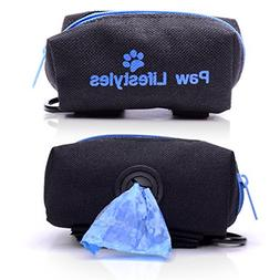 Paw Lifestyles Dog Poop Bag Holder Leash Attachment - Fits A
