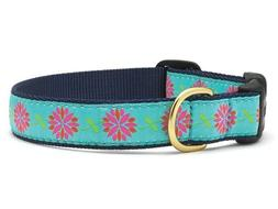 Dog Puppy Design Collar - Up Country -Made In USA - Dahlia D