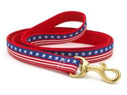 Dog Puppy Design Leash - Up Country - Made In USA - Stars &