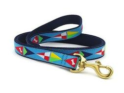 Dog Puppy Design Leash - Up Country - Made In USA - Sailing