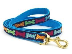 Dog Puppy Design Leash - Up Country - Made In USA - Big Bone