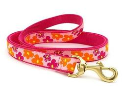 Dog Puppy Design Leash - Up Country - Made In USA - Flower P