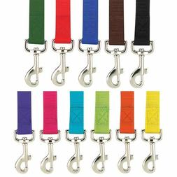 "Zack & Zoey - Dog Puppy Nylon Leash Lead - 11 Colors, 5/8"" 1"