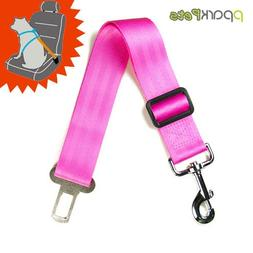 Dog Seat Belt and Leash All-in-one - Pink