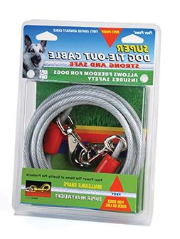 Four Paws Dog Super Tie Out Cable, 20 Foot